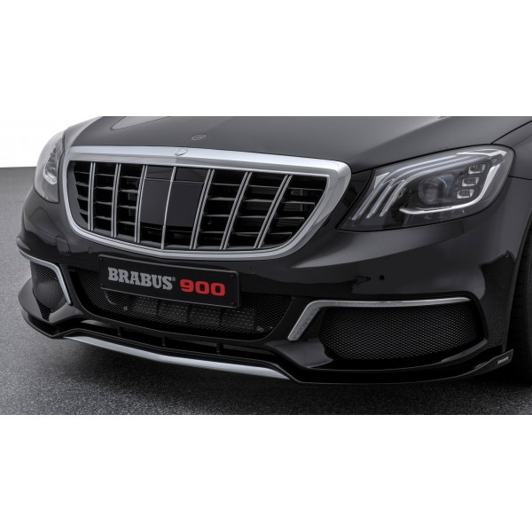BRABUS Chrome add-on parts for front bumper with s...